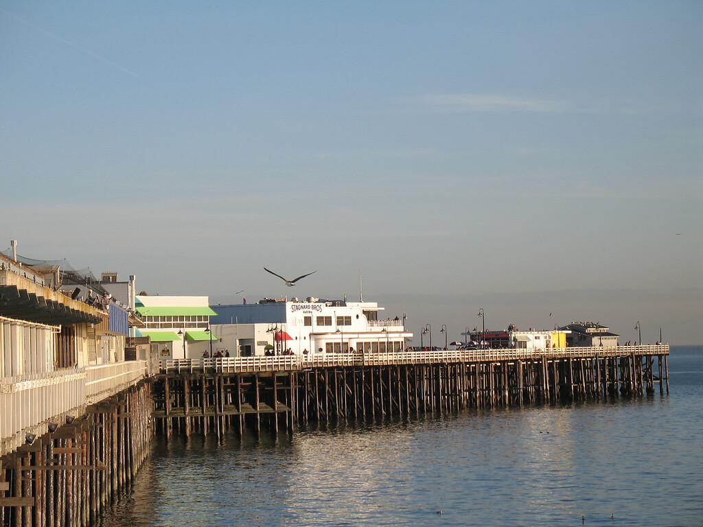 Santa Cruz Wharf, Santa Cruz, CA.  December 2006. Image Copyright 2006 by DJB.  All Rights Reserved.