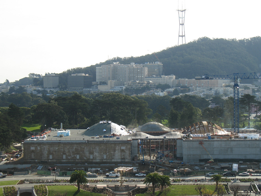 California Academy of Sciences (under Construction), San Francisco, CA.  December 2006. Image Copyright 2006 by DJB.  All Rights Reserved.