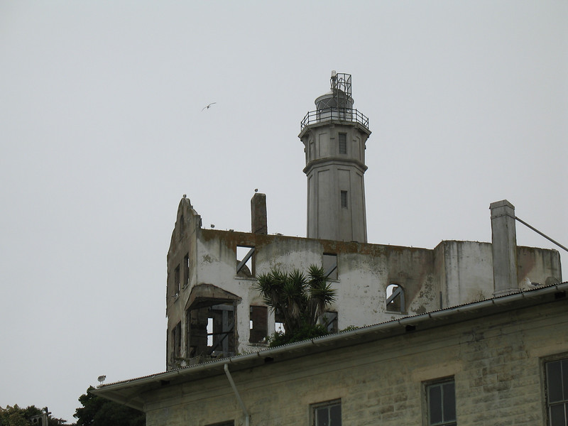 Alcatraz, CA.  July 3, 2006. Image Copyright 2006 by DJB.  All Rights Reserved.