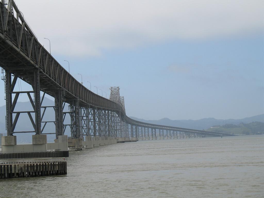 San Rafael Bridge, CA.  April 2006. Image Copyright 2006 by DJB.  All Rights Reserved.