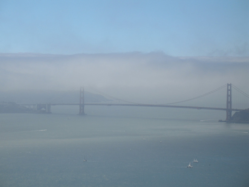 Golden Gate Bridge (from Angel Island).  July 3, 2006. Image Copyright 2006 by DJB.  All Rights Reserved.