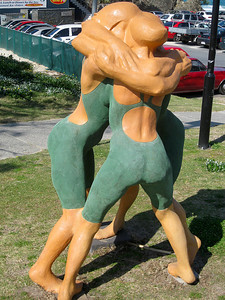 Champions, by Brian Bertram - SWELL Sculpture Festival, Currumbin, http://www.swellsculpture.com.au/  12 September, 2008