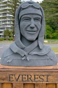 Grinners are Winners, by Ivan Lovatt - SWELL Sculpture Festival,   http://www.swellsculpture.com.au/  Currumbin, 17 September, 2008