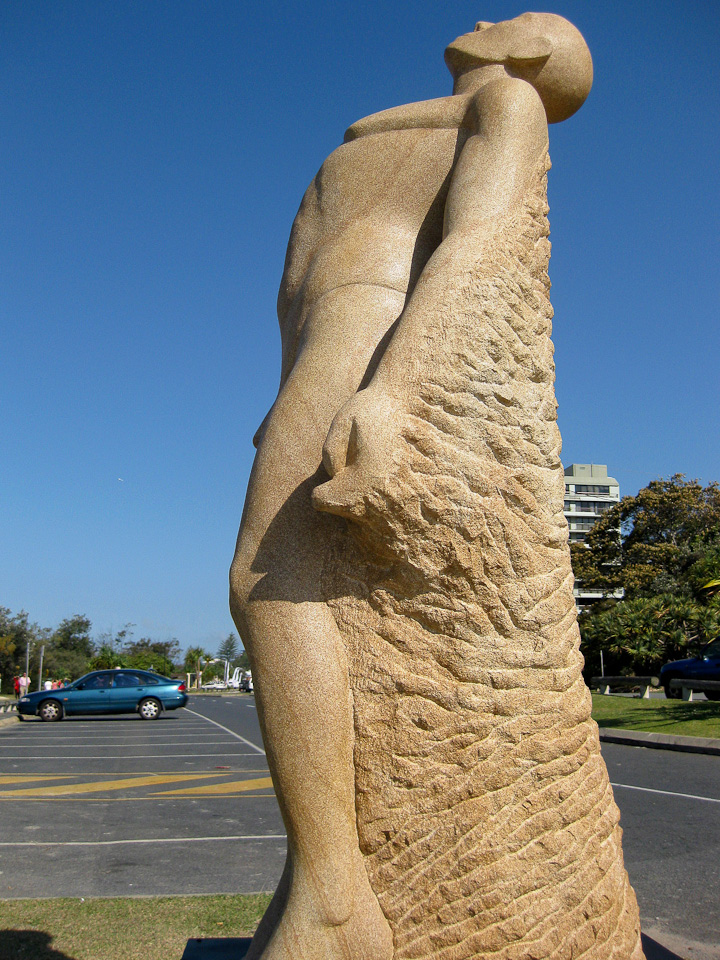 Emergence, by Jonathan Crowther - SWELL Sculpture Festival, Currumbin, http://www.swellsculpture.com.au/  12 September, 2008