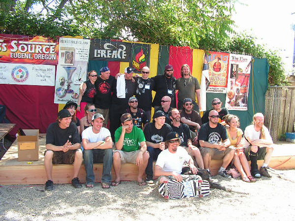2009 Degenerate Flame Off artists & judges