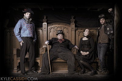 Promotional photo for Curio Theatre's production of The Twelfth Night, 2010.