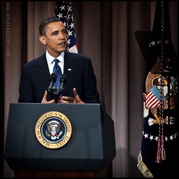 President Barak Obama in New York City, 2011