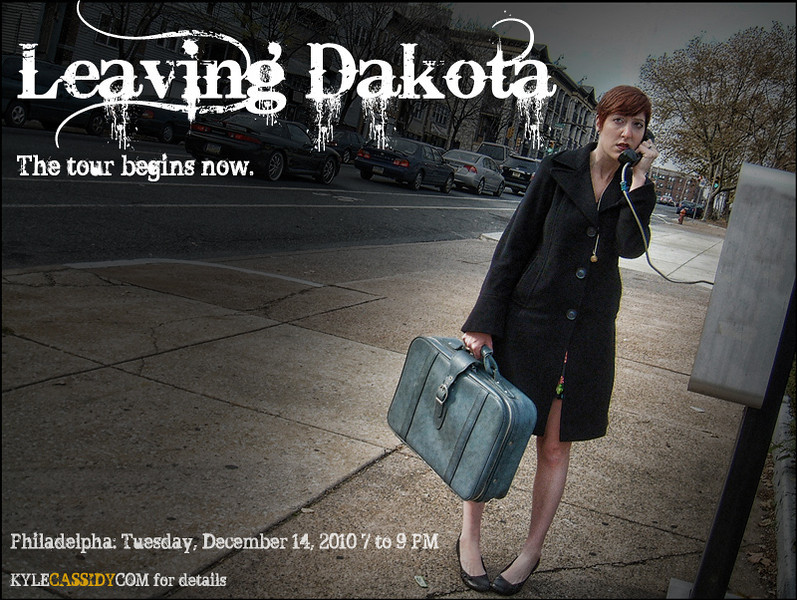 Leaving Dakota gallery tour, 2011.