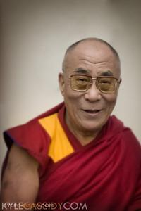 His Holiness the Dalai Lama, New York, 2010.