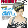 Amanda Palmer, cover of Boston Phoenix, 2010.