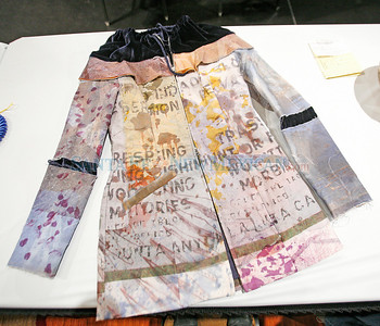 A jacket by Patricia Michaels, winner in textiles at Indian Market 2010.             Luis Sanchez Saturno/ The New Mexican.