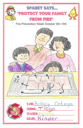 2011 Fire Safety Poster Contest 1st Place Winners
