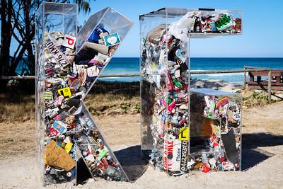 Can't Sea Through This, Elysium Greene - Swell Sculpture Festival 2012, Visit 1; Currumbin, Gold Coast, Queensland, Australia; 20 September 2012. Photos by Des Thureson