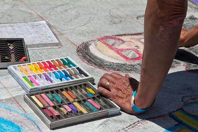 2014 Denver Chalk Art Festival