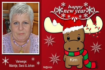 2014 Maintje's kaartjes 'Happy 2015'