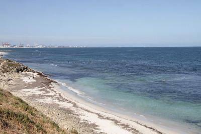View towards Fremantle