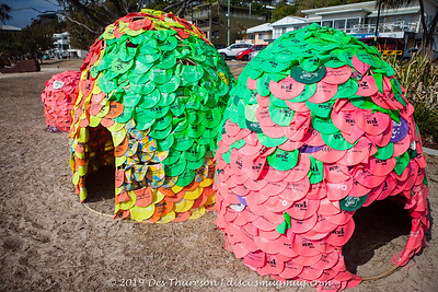 Cloud Seeding, Samantha Taylor & Miles Allen - Swell Sculpture Festival 2019 (People.Art.Place.); Currumbin, Gold Coast, Queensland, Australia; 17 September 2019. Photos by Des Thureson - http://disci.smugmug.com