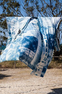 Bojagi Kimono, Anne Leon - Swell Sculpture Festival 2019 (People.Art.Place.) Visit 2; Currumbin, Gold Coast, Queensland, Australia; 20 September 2019. Photos by Des Thureson - http://disci.smugmug.com