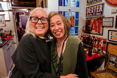 Lourdes Agnes Livingston on left and friend