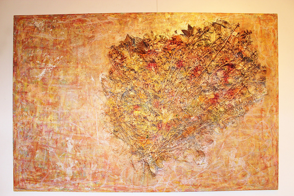 Midsummer Night's Dream - June 2013 - 48x72 - mixed media on canvas.