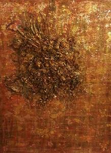 Firenze - November 2012 - 36x48 - mixed media on canvas.