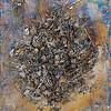 Blue Rhapsody - January 2013 - 48x36 - mixed media on canvas.