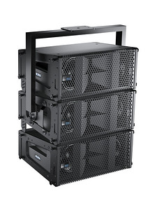 3D Rendering of MINA loudspeaker array