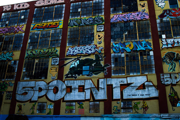 5 Ptz Graffiti Yard in NYC
