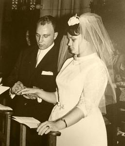 50 jaar huwelijk... Ouders Ronny Vanderpooten!