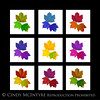 Fall Leaves Trio 9-SQ 13x13 copy