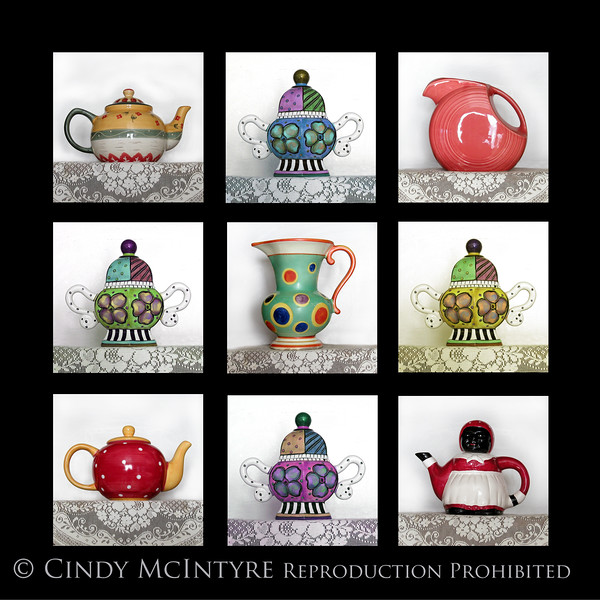 Teapots 2 9-SQ 13x13 copy