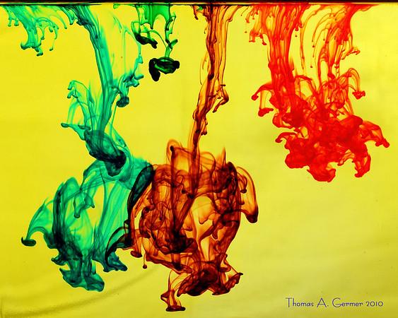 Dye in Water IV