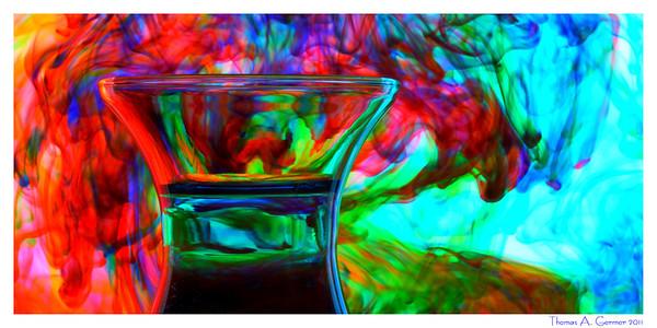 Dye and Water XXI