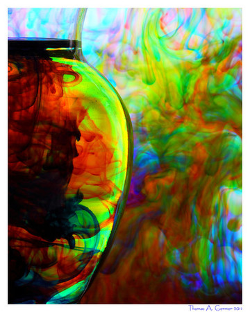 Dye and Water XVI