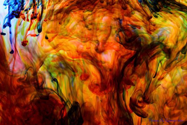 Dye in Water IX