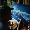 Night Landing, oil, 16x20, sep 8, 2012 DSCN1442