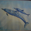 Spinner Dolphins, watercolor, oct 25, 2012 CIMG8232