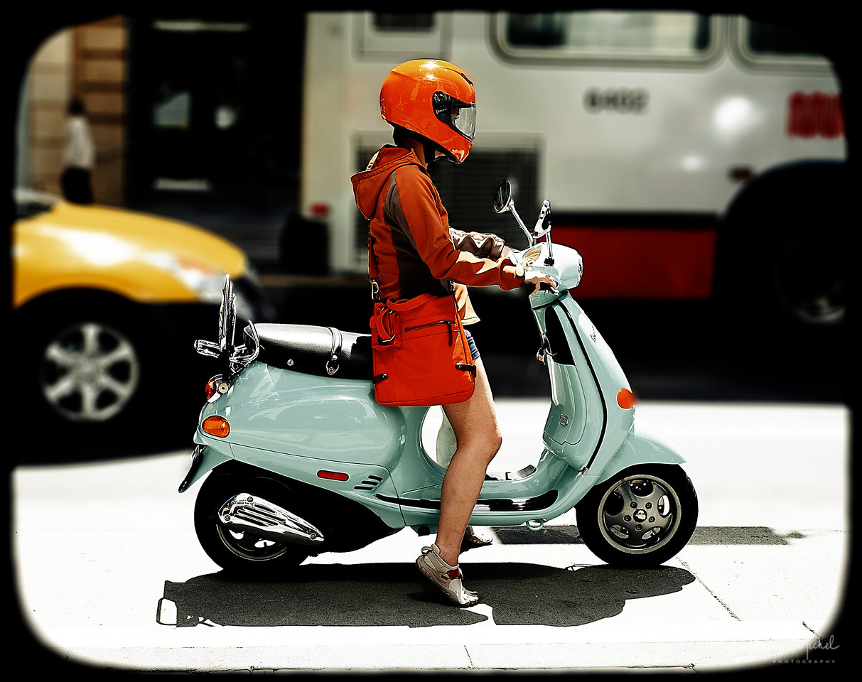 Scooter. SF