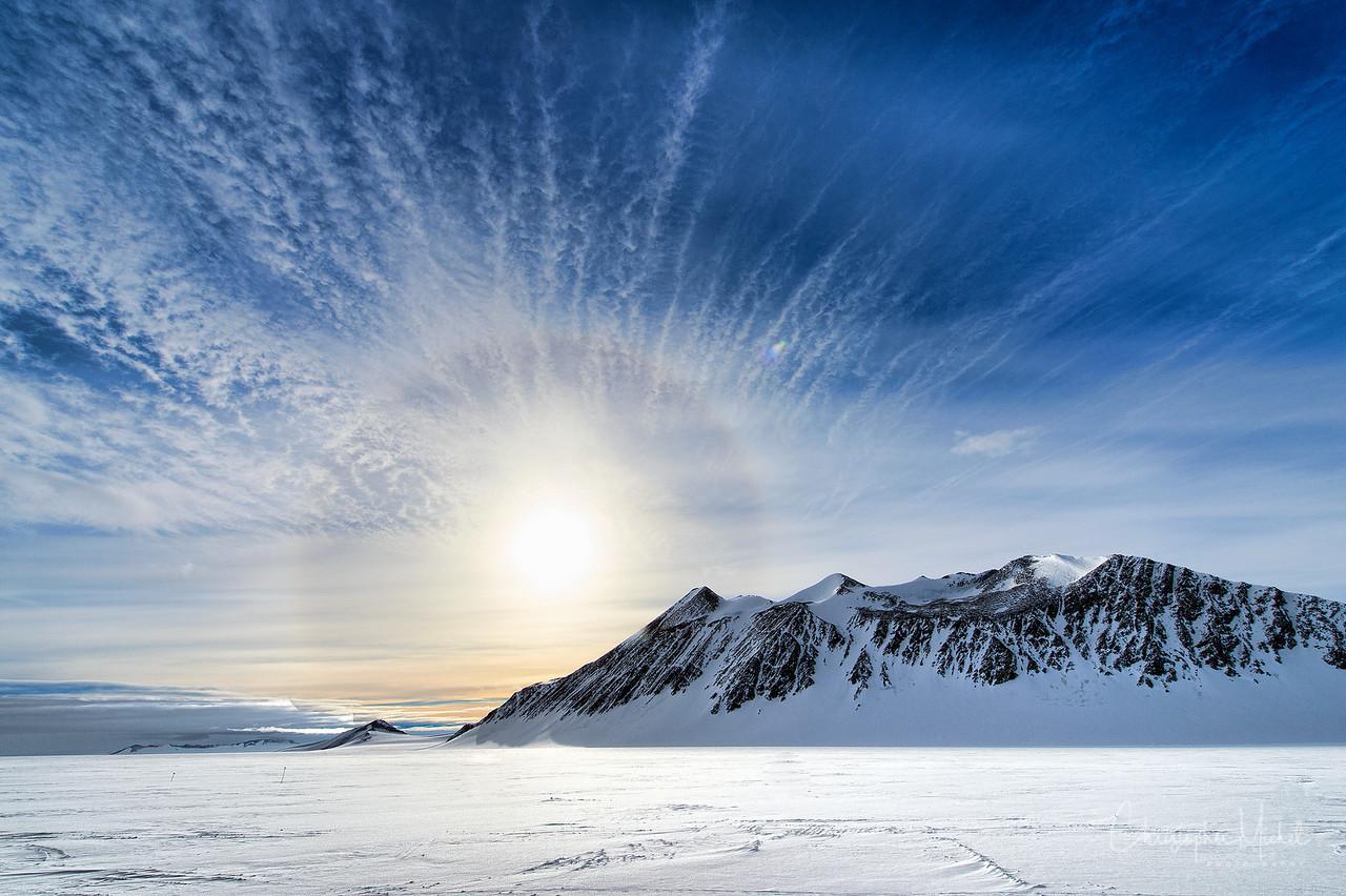 Union Glacier Camp, Antarctica.