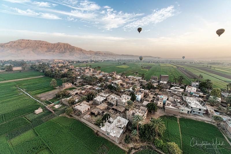 The morning of the Luxor balloon crash.