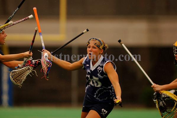 Shoreham-Wading River HS Girls lacrosse team introductions, Long Island HS Championships.