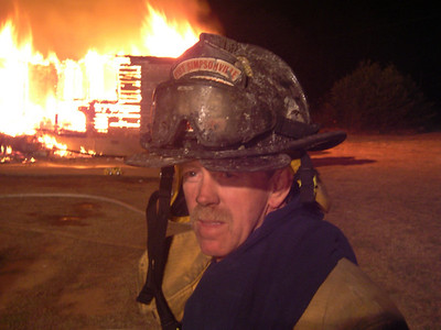 East Simpsonville Fire Department Training Burn, SC