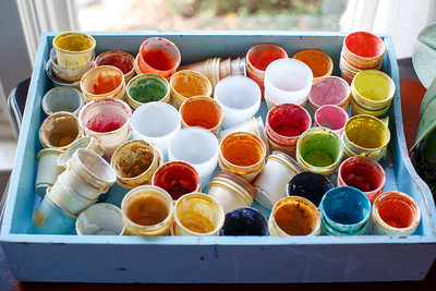 Water Color Cups
