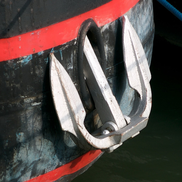 """W"" An anchor on the Seine"