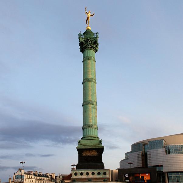 """""""I"""" at Place de la Bastille"""