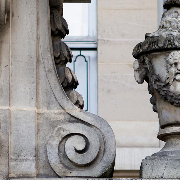 """b"" architectural detail"