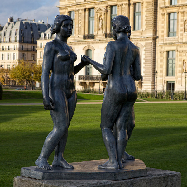 """H"" near the Louvre"