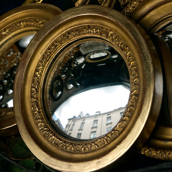 """O"" Ornate mirrors"