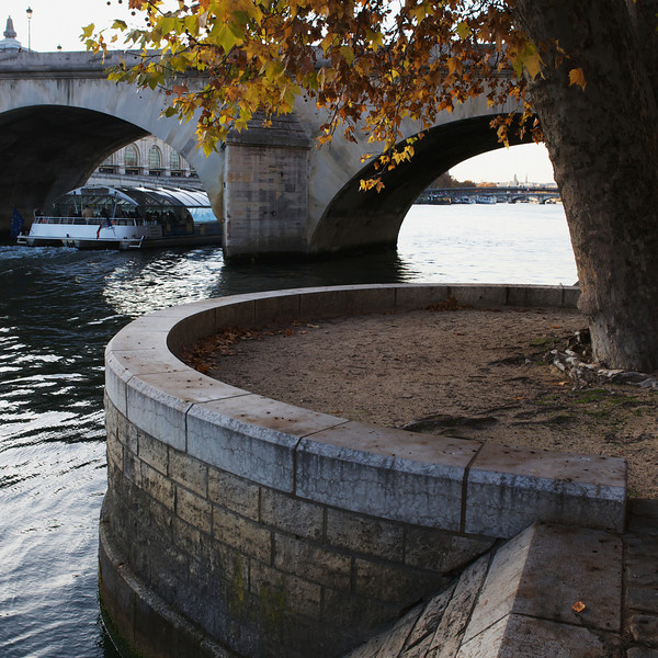 """C"" on the banks of the Seine"