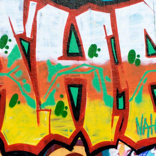 """""""H"""" graffiti"""